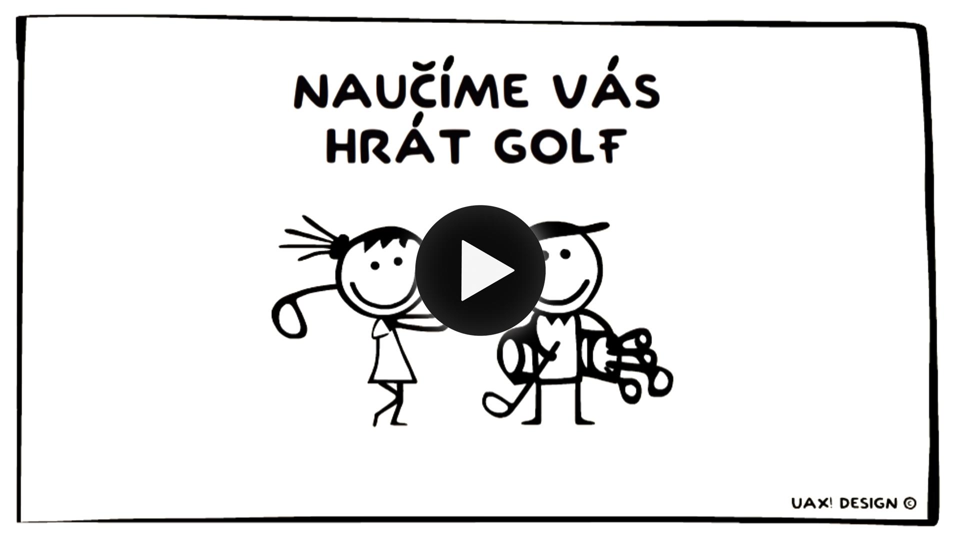 animace Kaskada1 golf