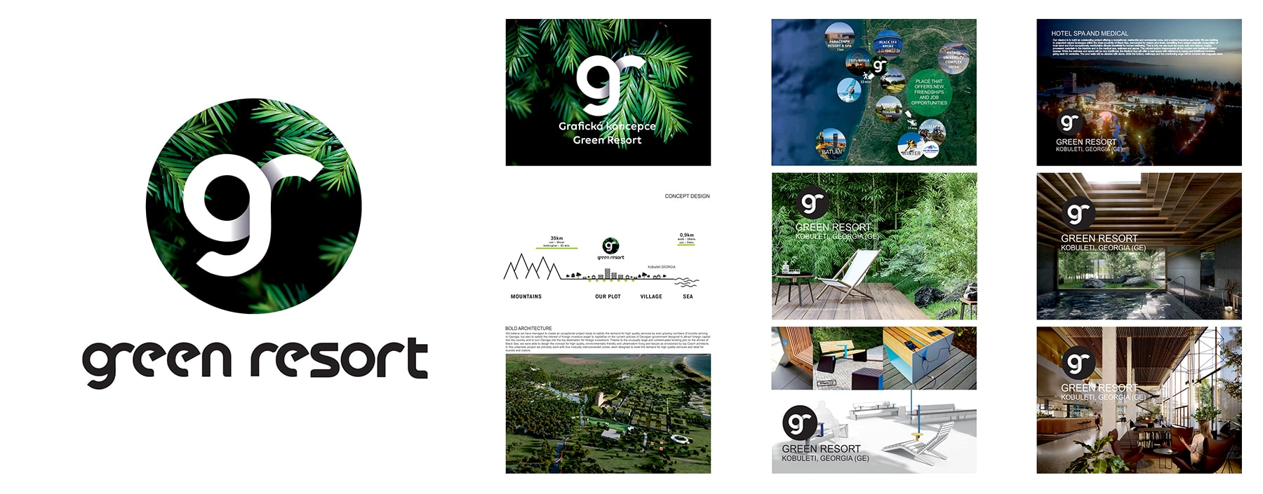 corporate identity Green Resort