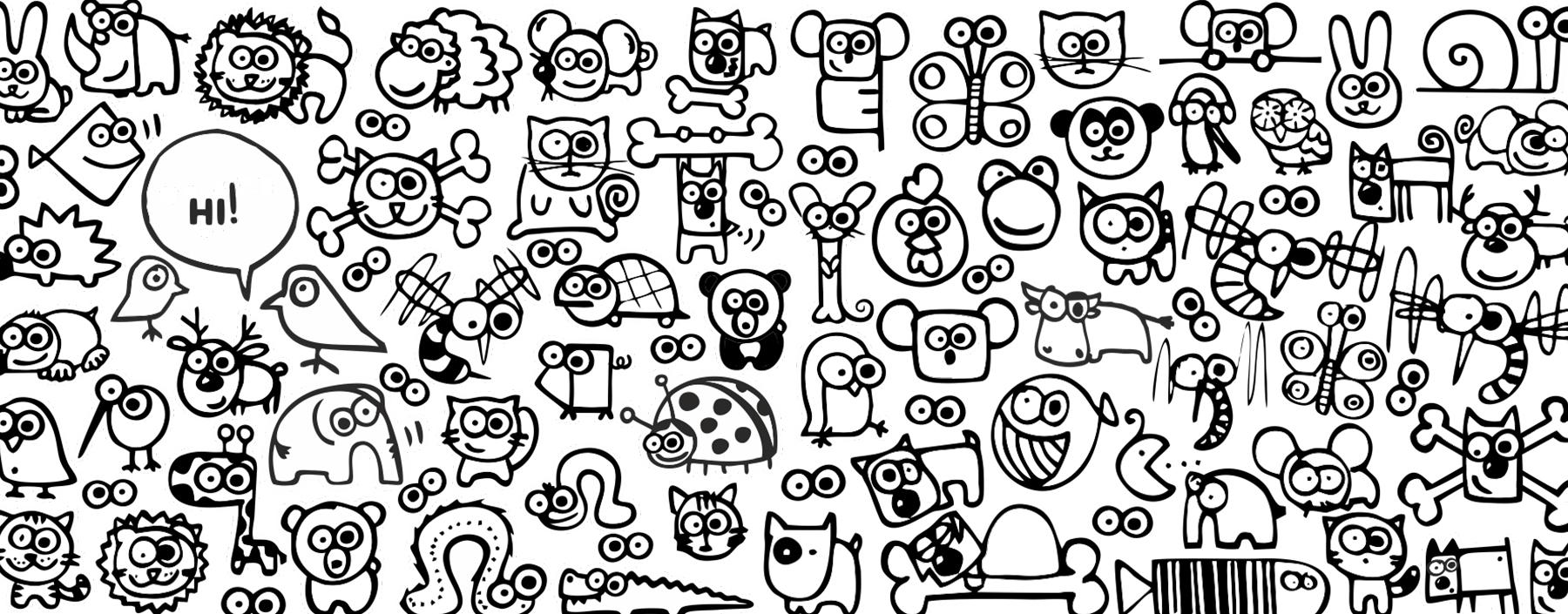 doodles UAX ZOO