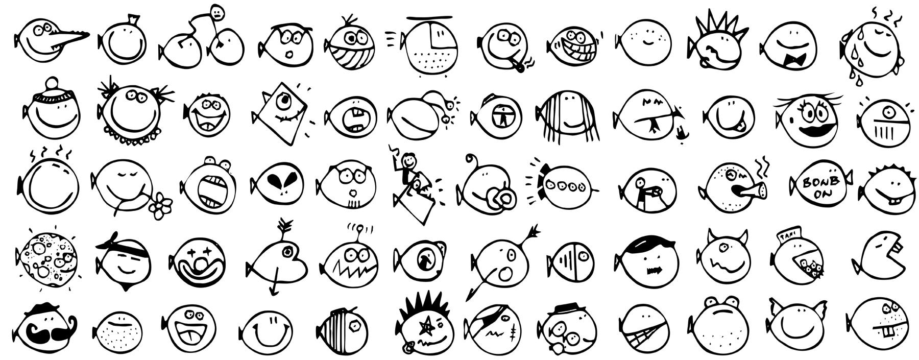 doodles UAX Fish life