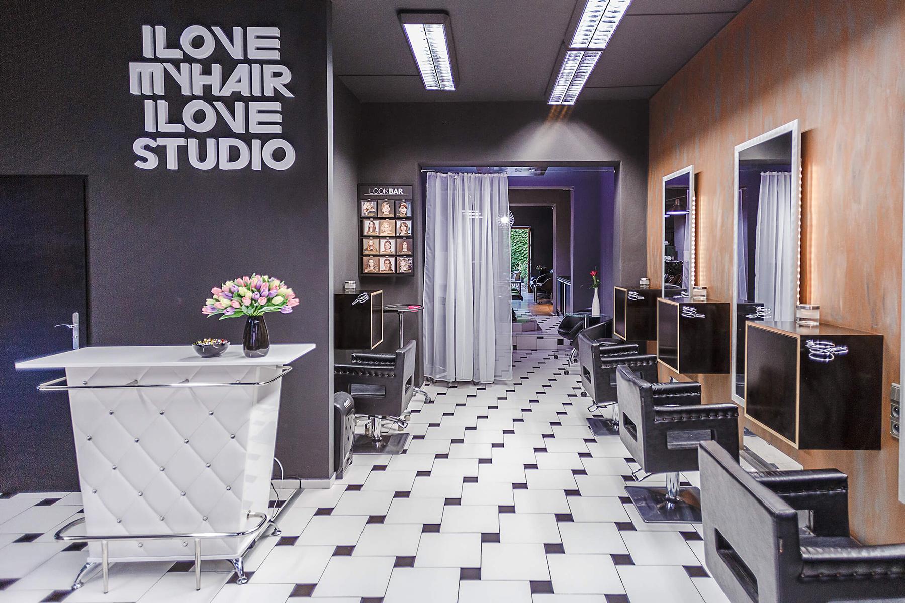 interiéry I LOVE MY HAIR STUDIO